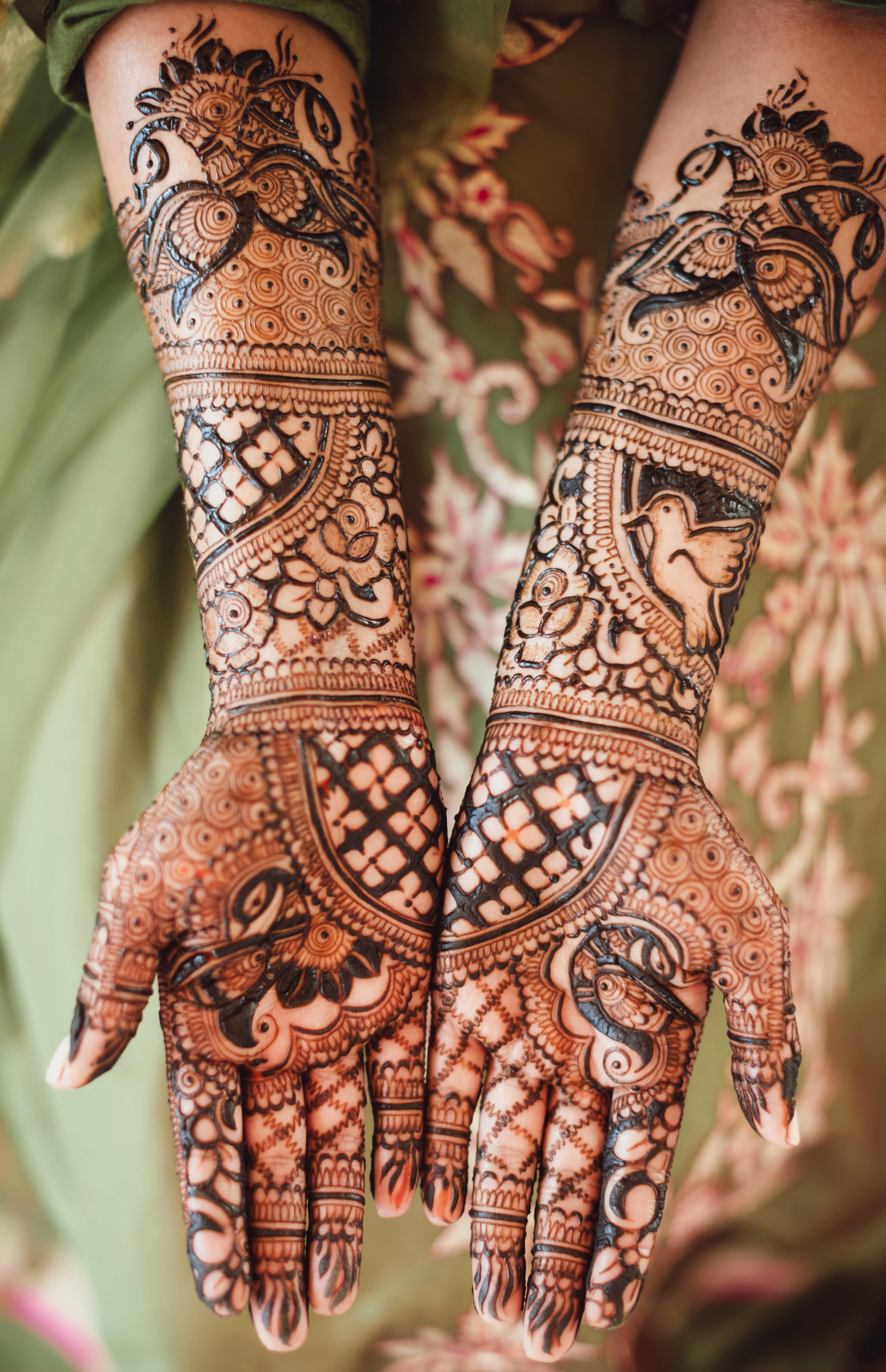 Wedding Mehndi Designs   Latest Wedding Mehendi Designs For Brides
