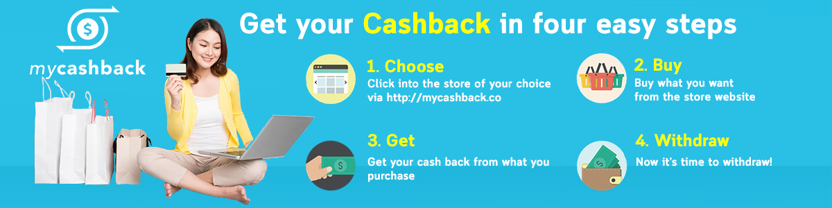how to cashback mycashback