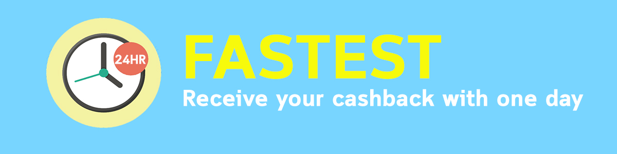 SG fastest banner cashback