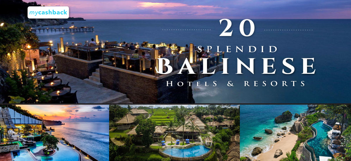 20 Splendid Balinese Hotels & Resorts