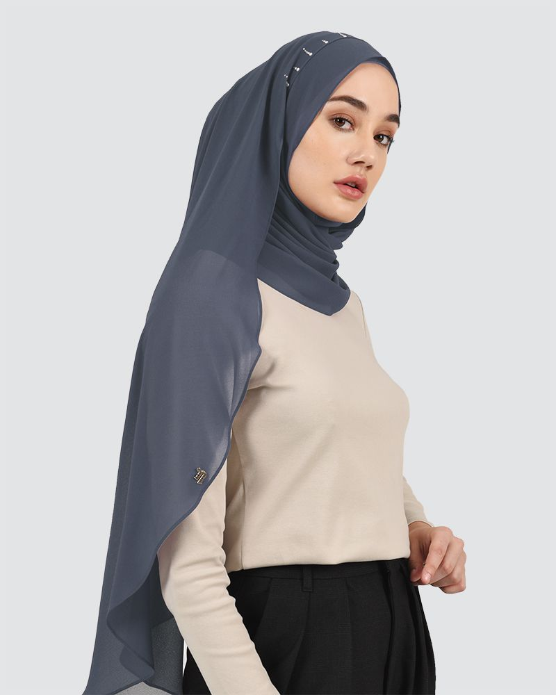 AISA - MEDIUM DEEP GREY-BLUE