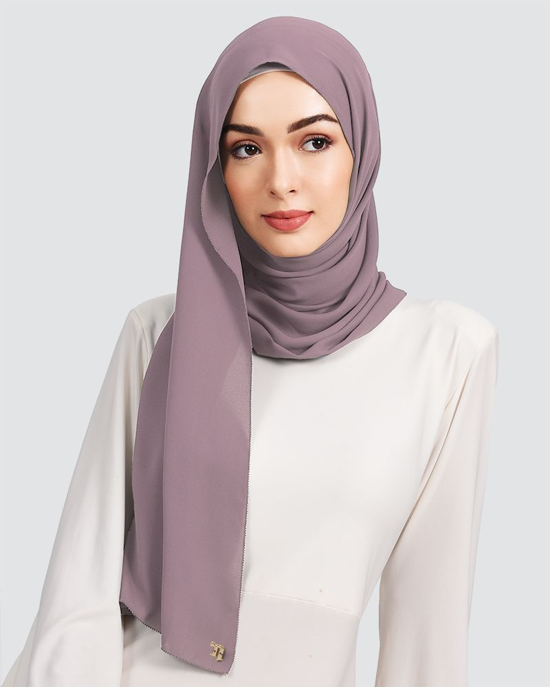 EILA - MEDIUM DUSTY MAUVE-PURPLE