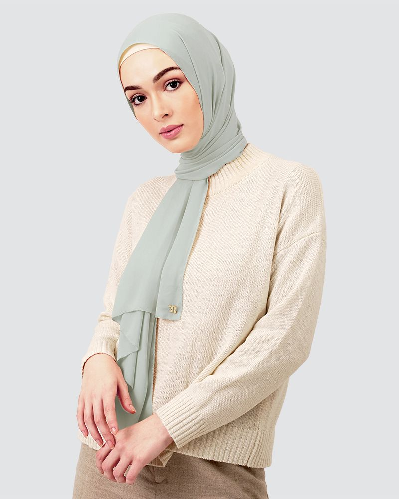 EILA - LIGHT GREY-BLUE