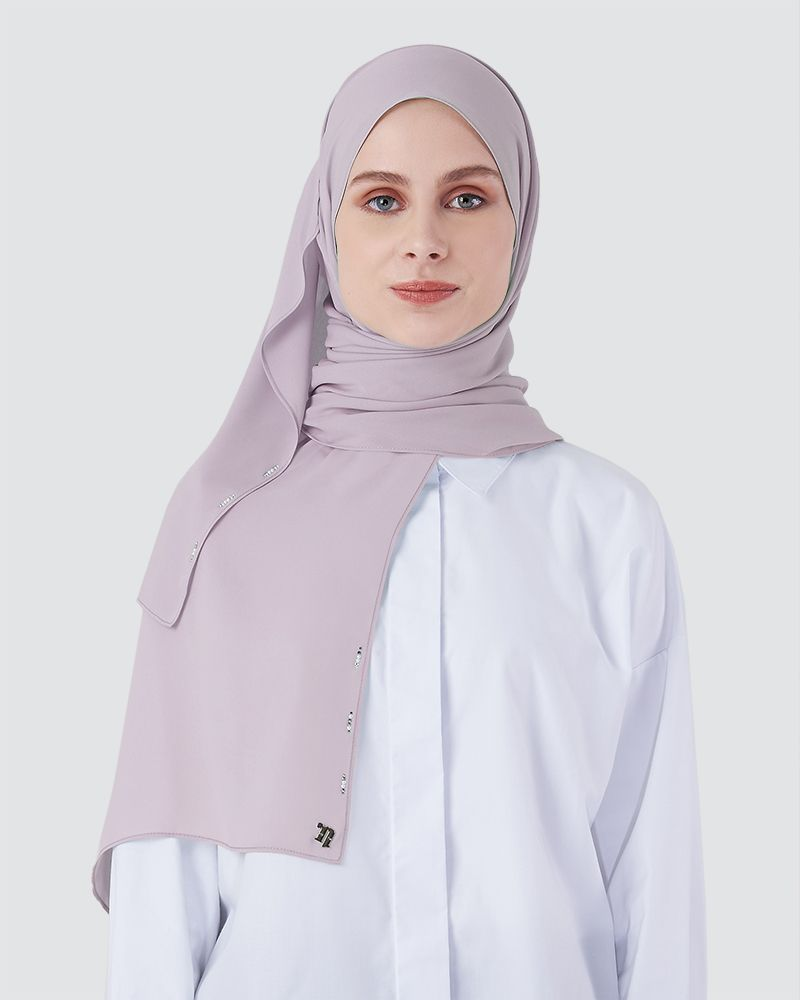 LIYA SHAWL - LIGHT POWDER LAVENDER
