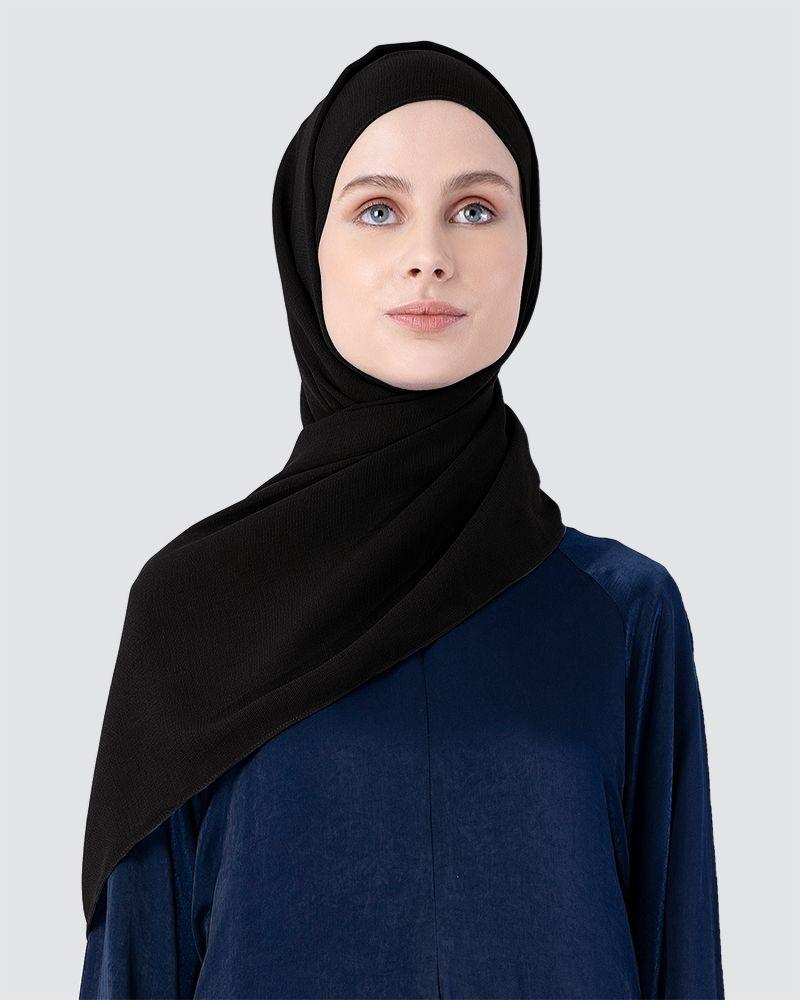 MILDA SHAWL - BLACK