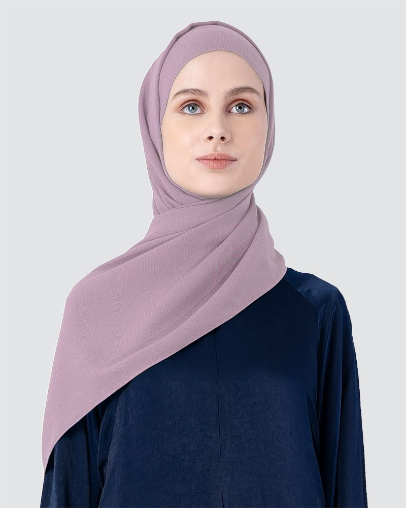 MILDA SHAWL - LIGHT PINK-PURPLE