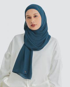 MISORA CHIFFON SEMI-INSTANT - DARK PEACOAT BLUE