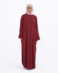 OVERSIZED LONG TUNIC - RED