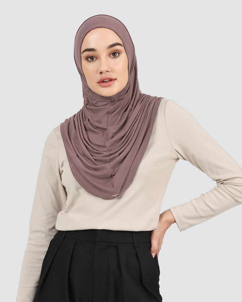 SOPHIA - SMOKEY PALE-MAUVE-BROWN