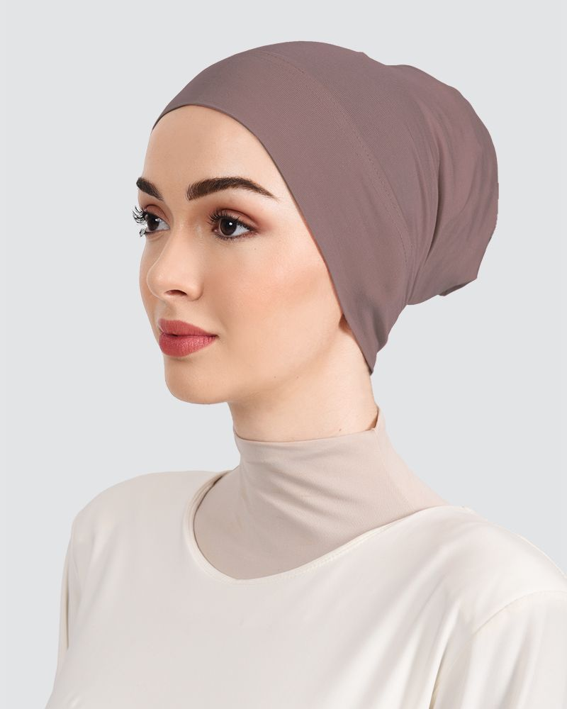 INNER WARDA - SMOKEY PALE-MAUVE-BROWN