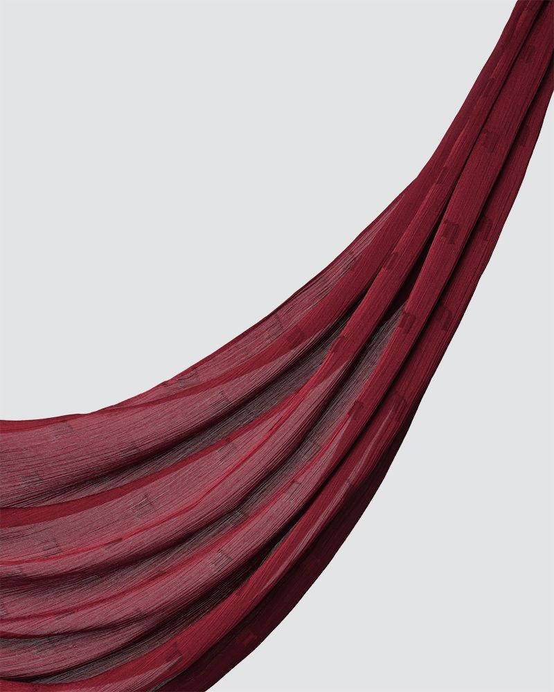 MODA WOVEN SHAWL - SMOKEY RED-BERRY