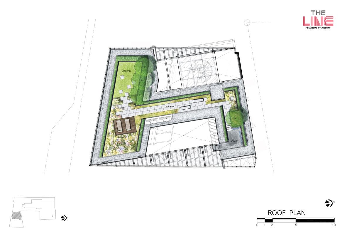 คอนโดมิเนียม เดอะ ไลน์ พหลฯ - ประดิพัทธ์ - Clubhouse ชั้น 3