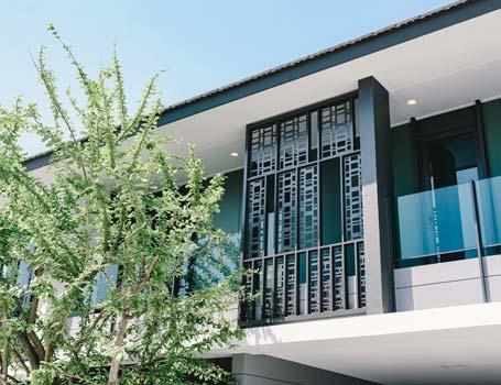 บ้านเดี่ยว ฮาบิเทีย ออร์บิต หทัยราษฎร์ - Innovation นวัตกรรม - SHADING-SCREEN
