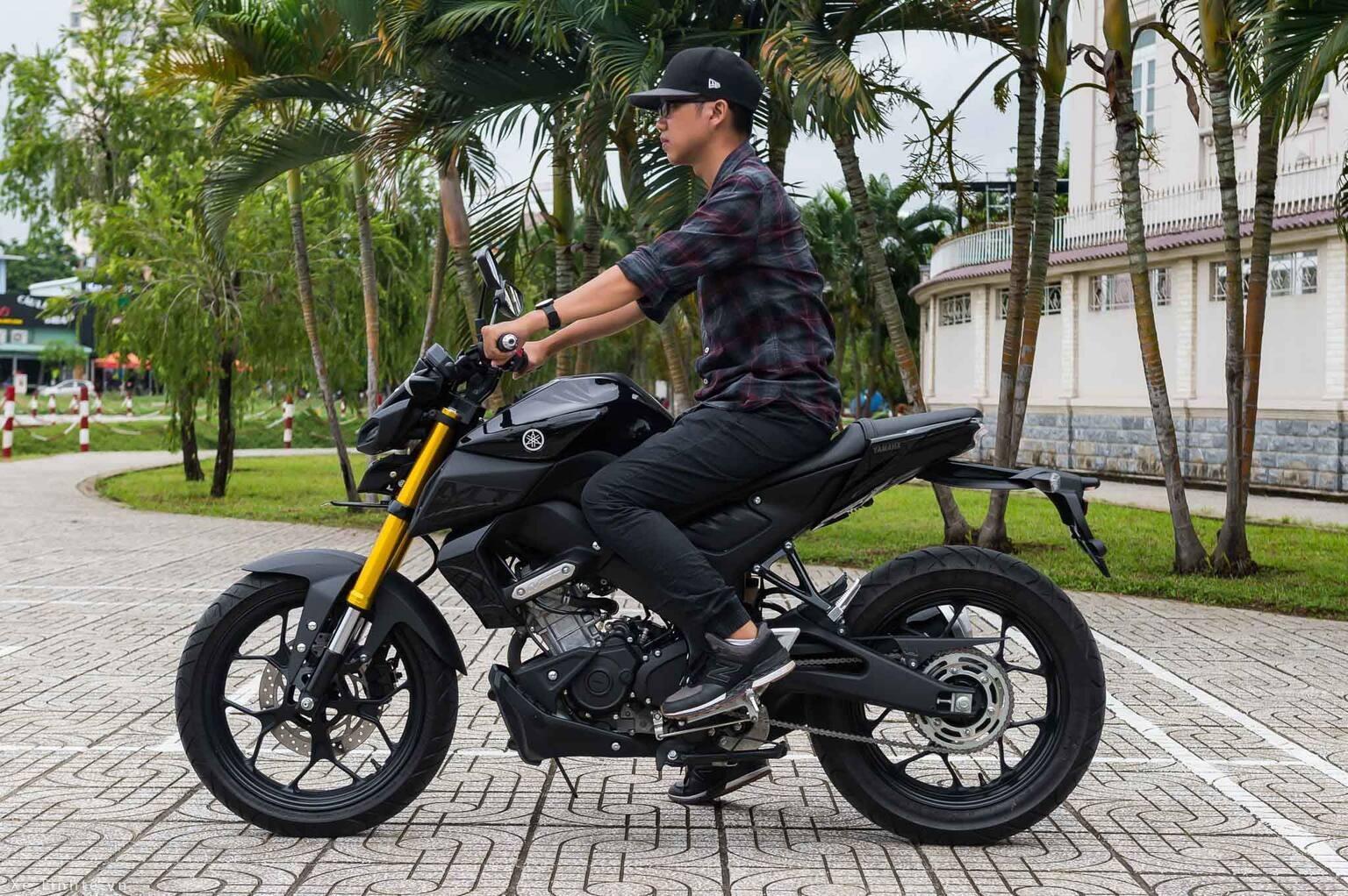 Yamaha MT-15 thuộc các loại xe nake bike giá rẻ