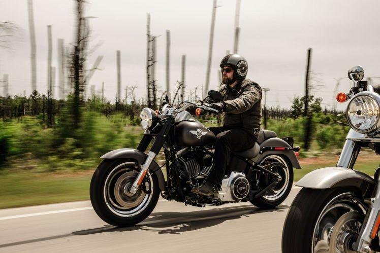 Fat Boy Low - Mẫu moto có chiều cao yên thấp nhất trong gia đình Harley-Davidson