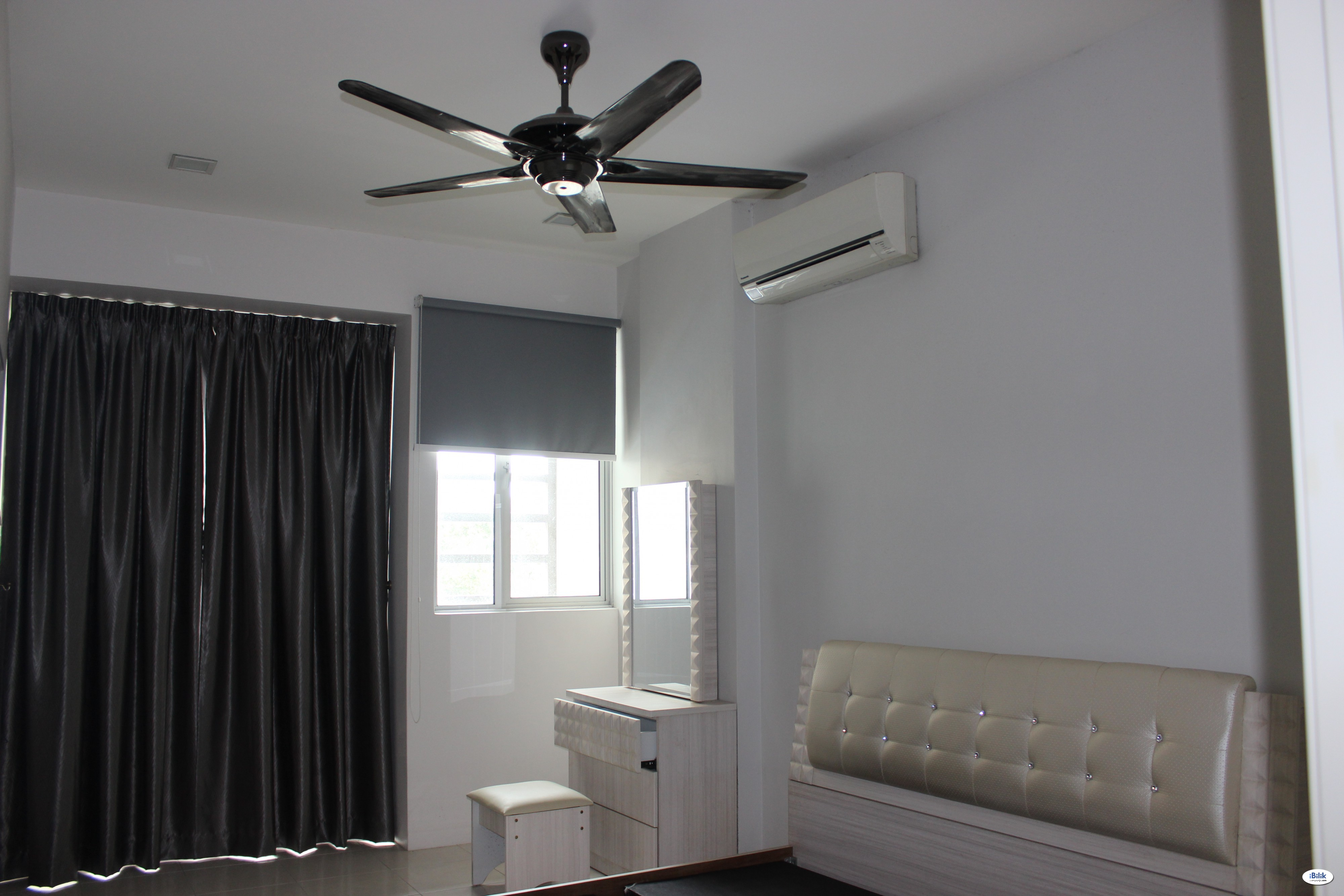 Furnished Bedroom, Ready to Move In! Raja Uda!