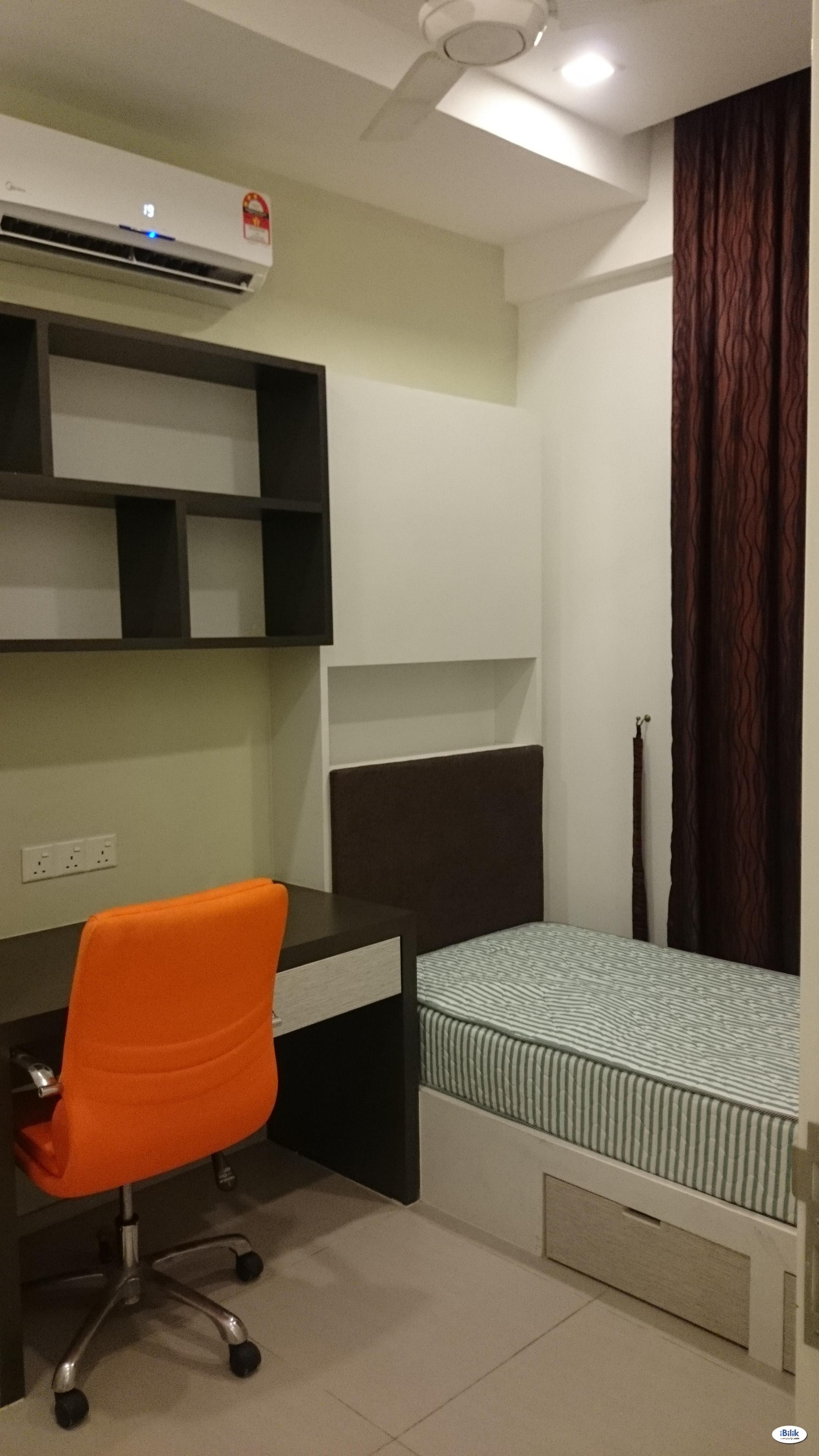 Room Fully Furnished at Garden Plaza Cyberjaya Lim Kok Wing
