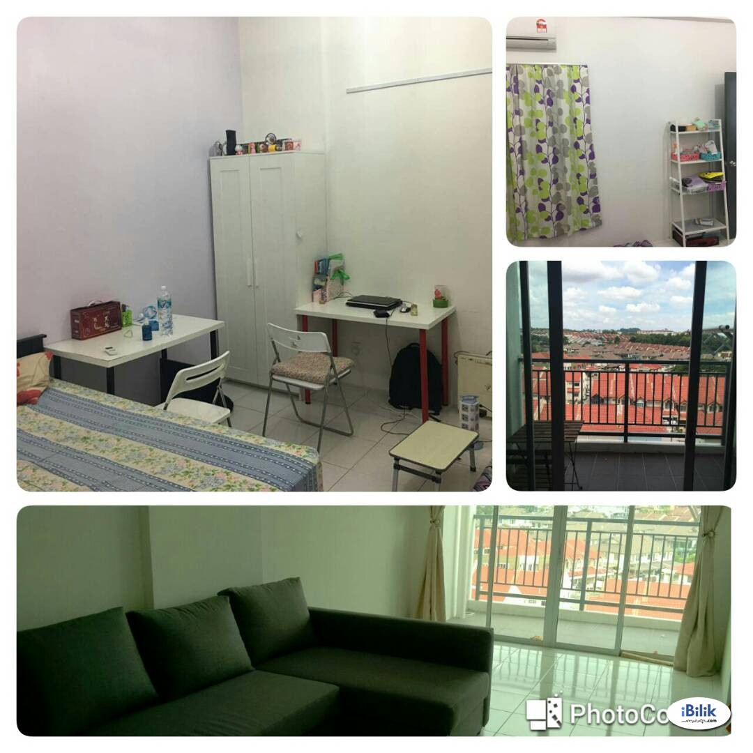 Medium Room for Let in Mahkota Cheras [Fully Furnished + Utilities Inclusive]