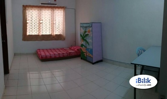 Available Room Rent At Cheras Taman Counnaught  & WI-FI
