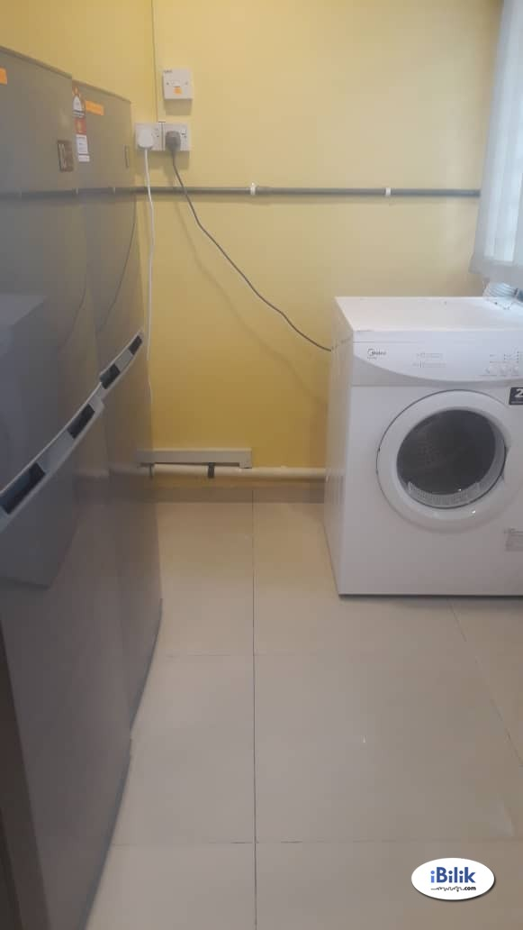 Fully Furnish SS4 Kelana Jaya, Dataran Glomac SS6 Aircon, High Speed Internet