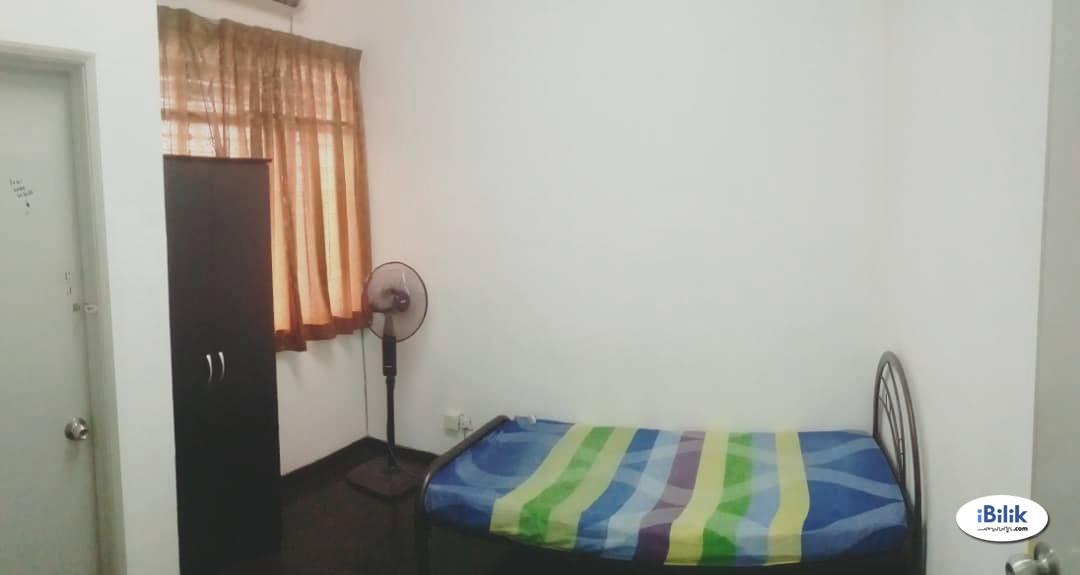 Room Rent Available Kepong, Taman Fadason Near MWE,Aeon Metro Prima & WIFI