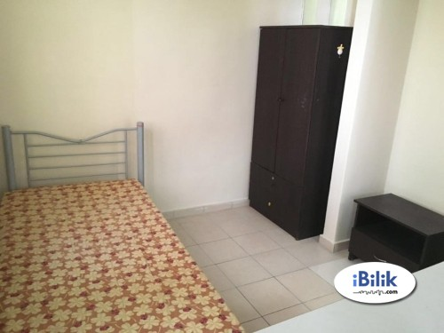 Full furnished With Wi-fi & Aircond Available Room At Mutiara Bukit Jalil
