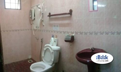 Fully Furnished Medium Room at Wawasan, Bandar Puchong with Aircond & Wifi