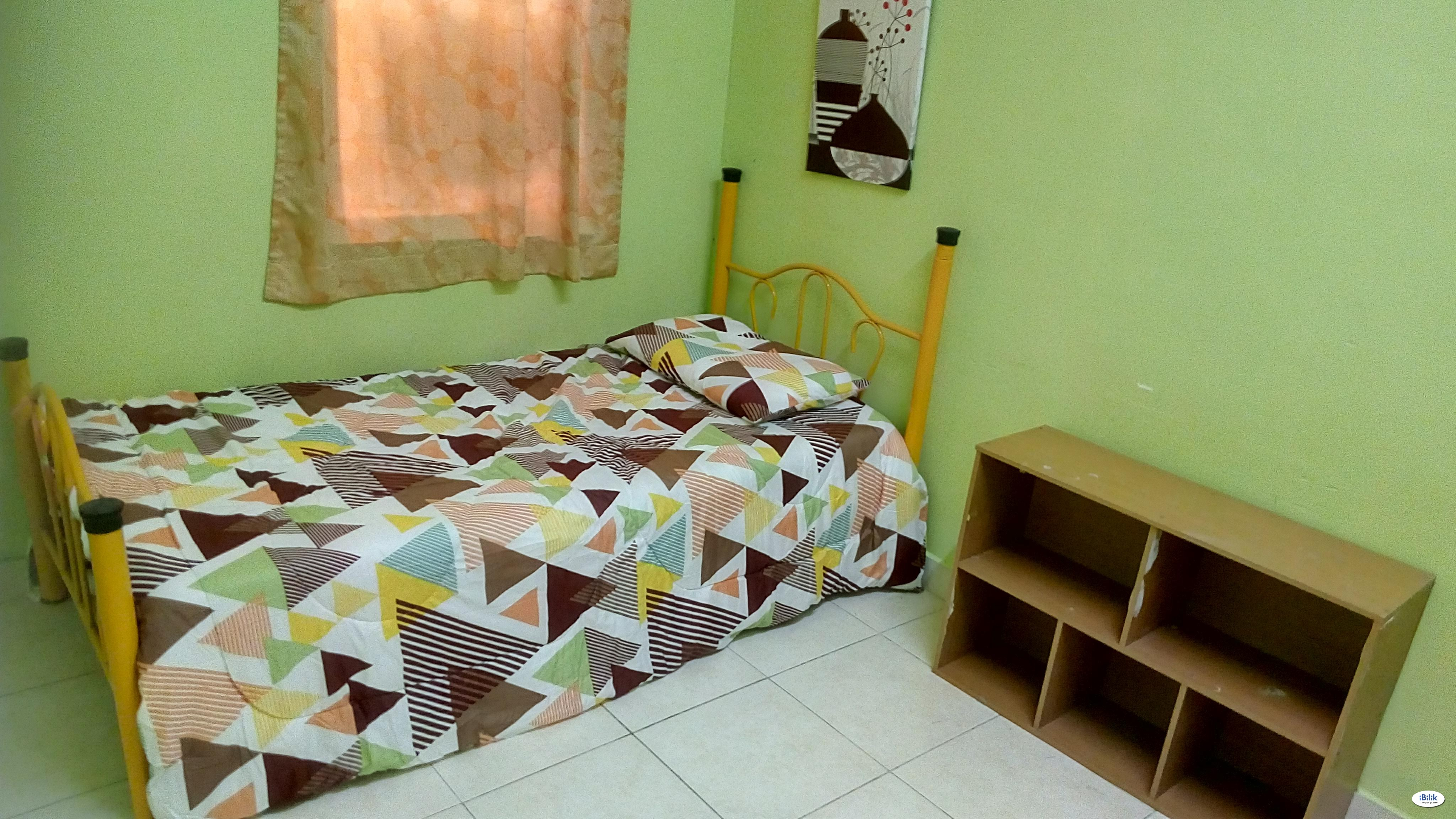 Nonshare  Furnished Middle Room RM380 at Cyberia SmartHomes, Cyberjaya