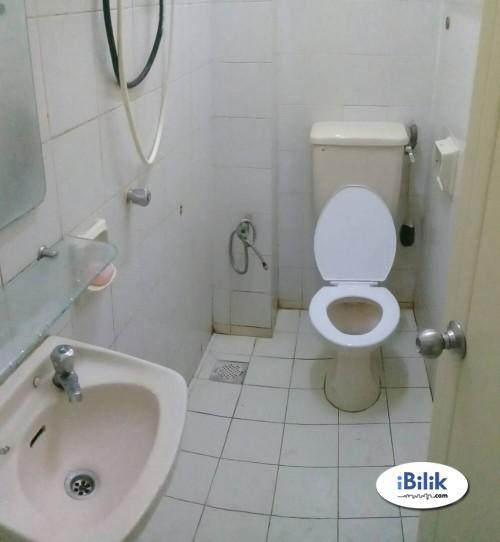 Room For Rent At Bandar Puchong Jaya ,Walk 3 Min To IOI LRT Station & Stretagy Location
