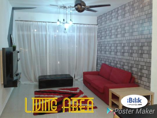 Middle Room at Dwiputra Condo, Putrajaya, Selangor