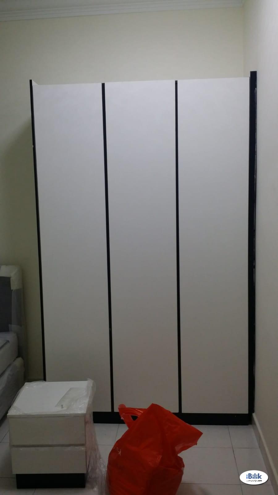 Common Room Fully Furnished SUTERA UTAMA (NO AGENT FEE)