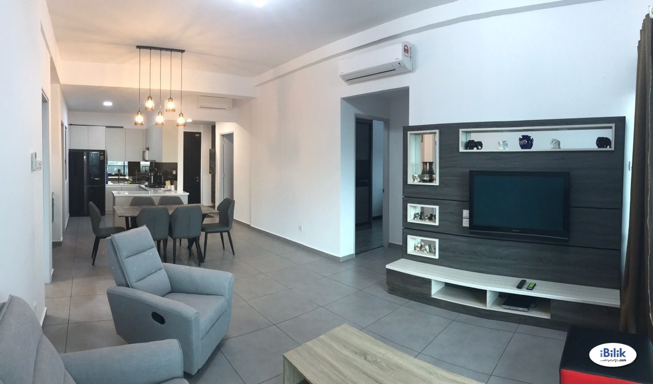 Balcony Room at D'Sands Residence, Old Klang Road Full Furnished with Utilities & Internet