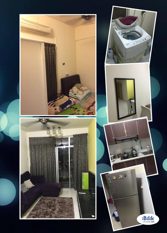 Fully Furnished Middle Room at Damansara Perdana, can move in immediately / march