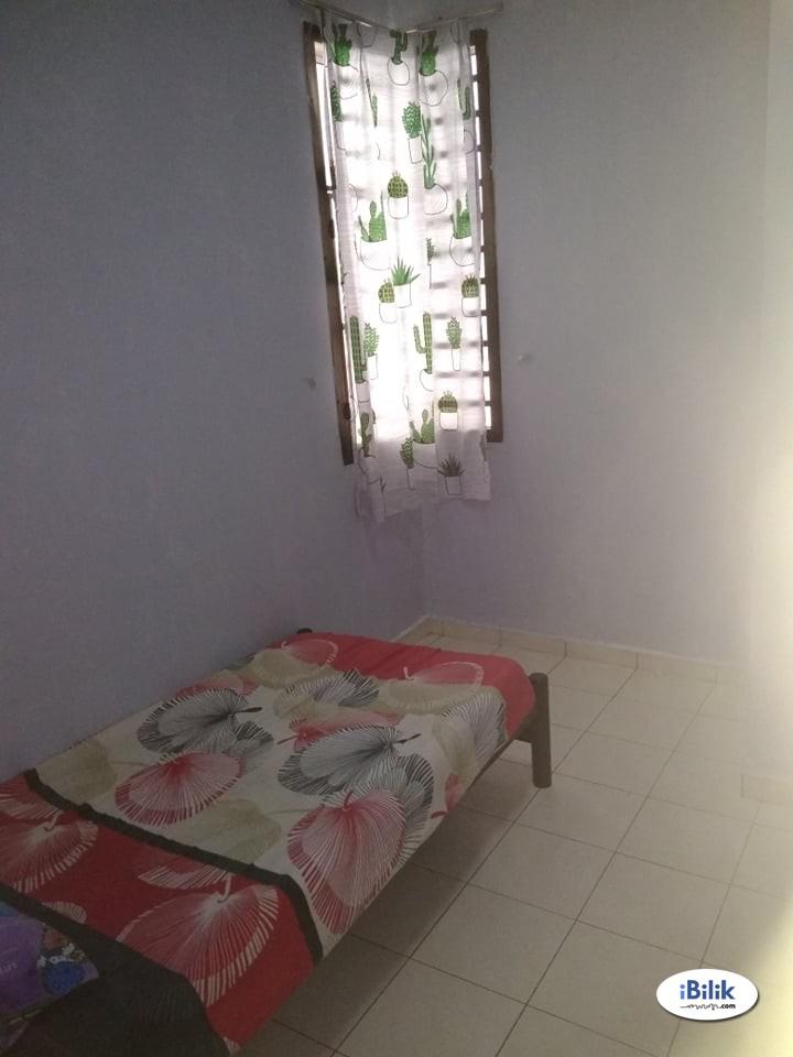Single Room at Nusa Perdana Service Apartment, Gelang Patah