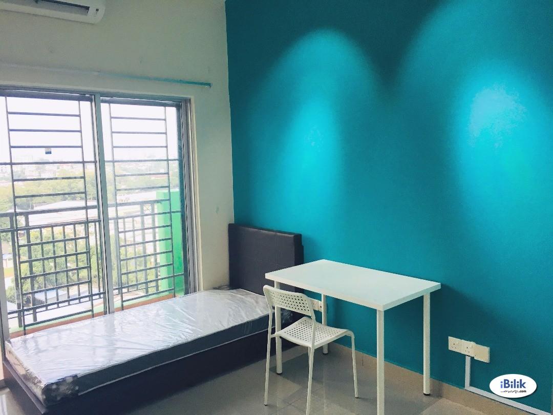 Master Room at Impian Meridian Near LRT BRT Damen Segi College Summit, UEP Subang Jaya
