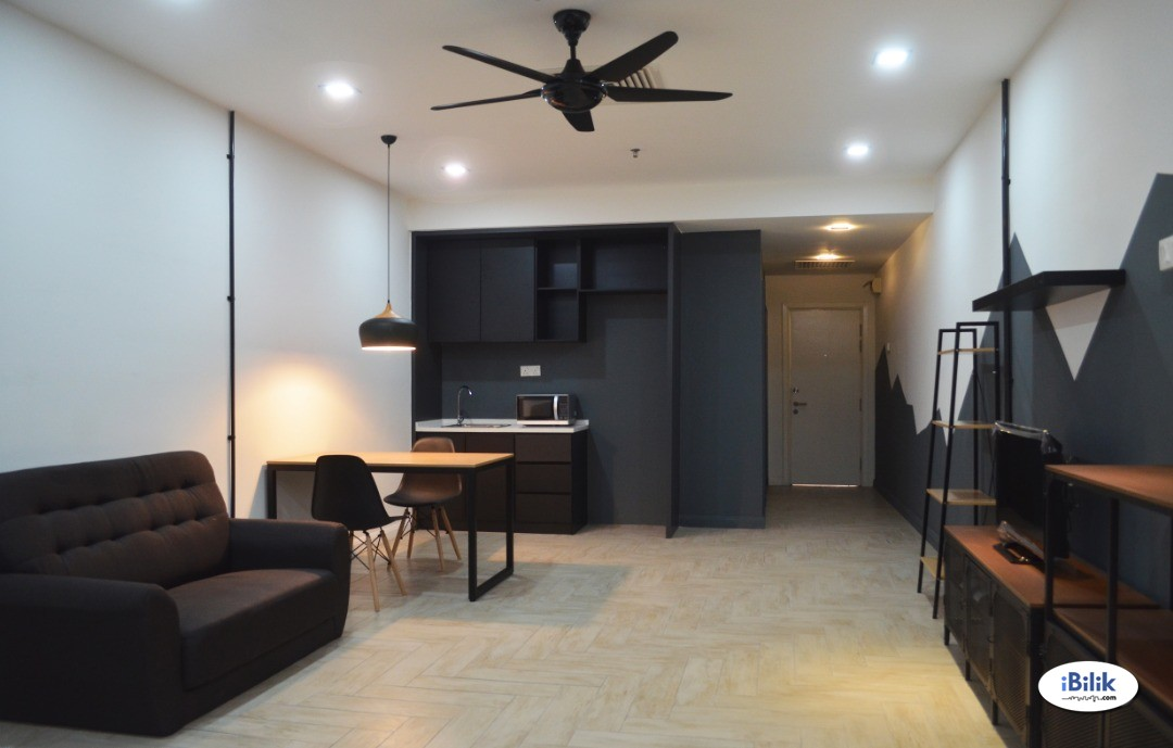 Cozy Fully furnished Studio at Empire City, Damansara Perdana