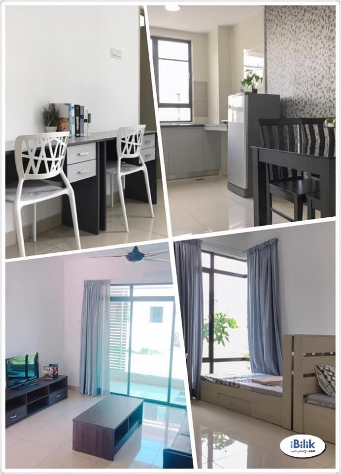 Find room for rent homestay for rent meadow park kampar 拎包入住