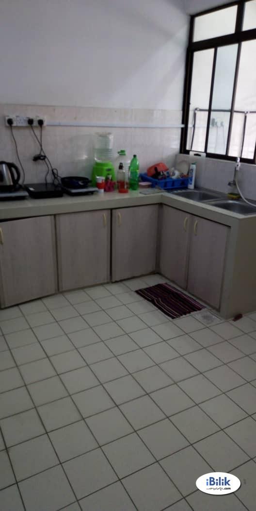 Private Room Rent AT kepong Taman Bukit Maluri, Nearby Bandar Menjalara & WI-FI