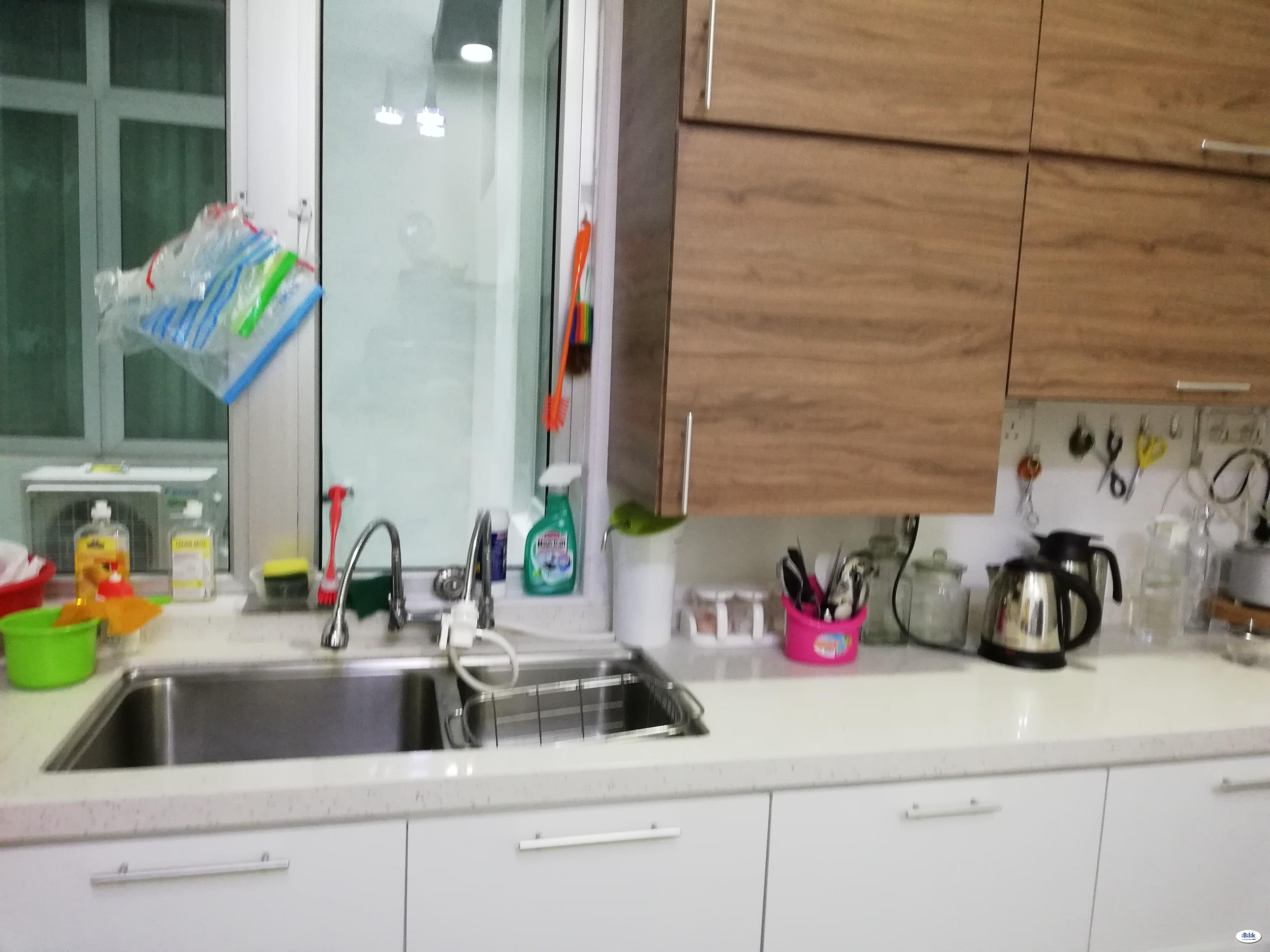 Middle Room at Bangsar South, Panta Vista Angkasa Apartmentii