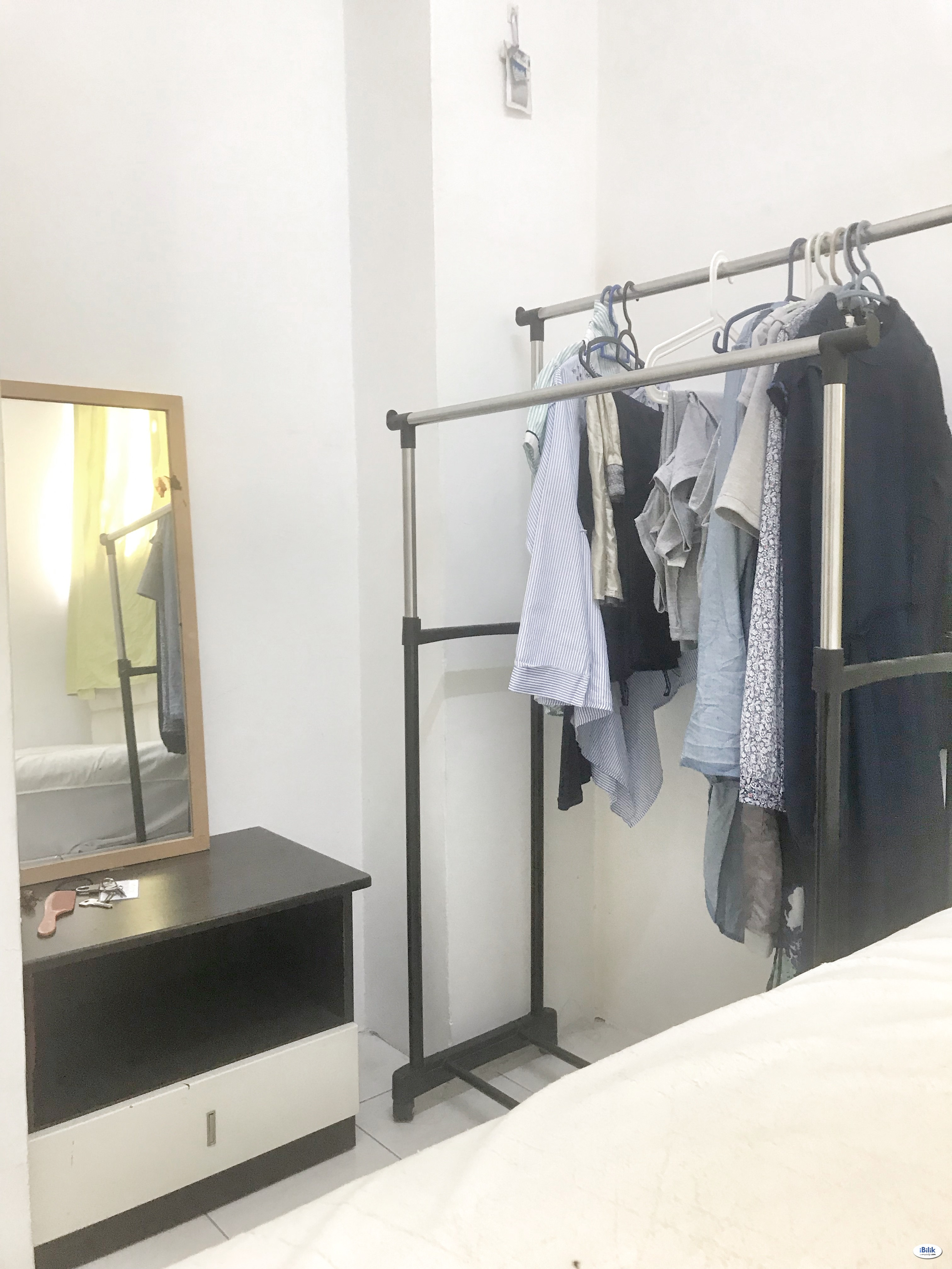 Room AVELON Tower MENJALARA KEPONG - Nearby Tesco and Desa Parkcity [Fully-Furnished & private bathroom]