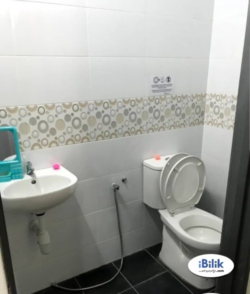 Middle Room FOR Rent at Mutiara Bukit Jalil with FREE Internet ,Aircon & Stretagic Location