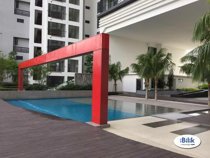 Room for rent next to MRT station. Rental include utilities