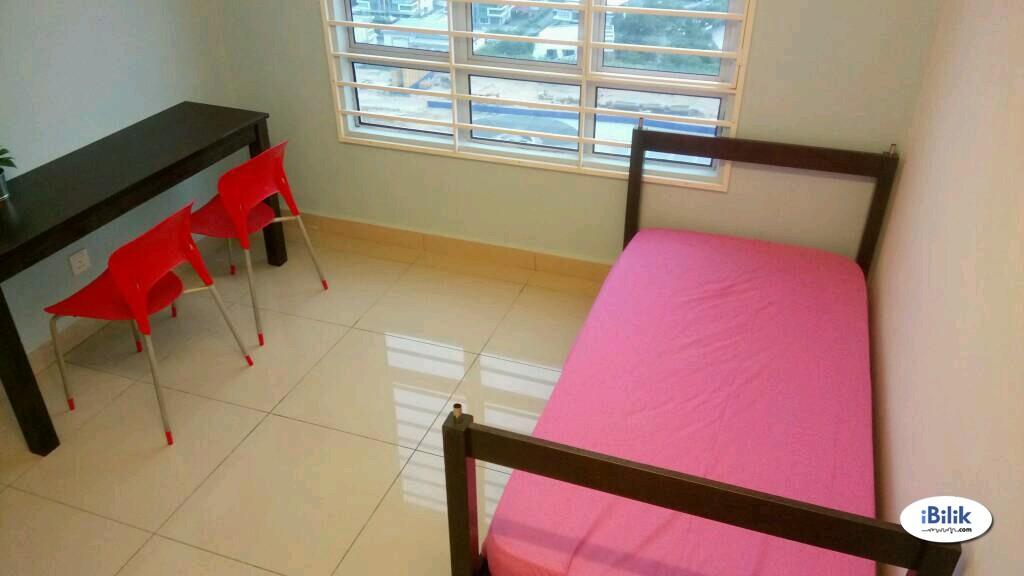 ALL FEMALE SMALL ROOM beside SEGI University , Dataran sunway , MRT