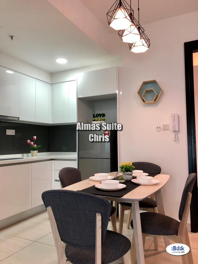 Studio at Almas, Puteri Harbour - New Fully Furnished (Moving Conditions)