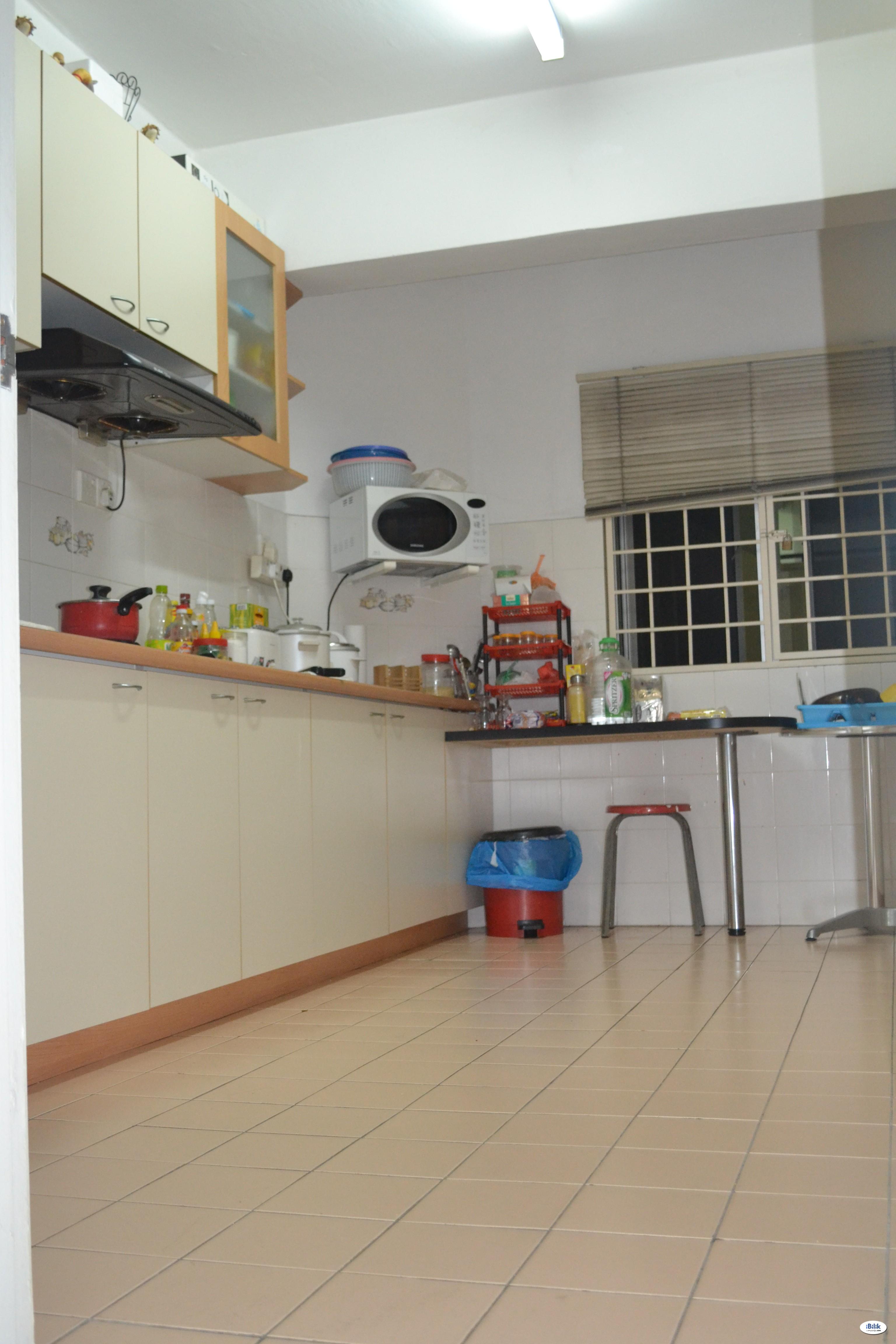 Fully furnished Single Room at Shang Villa, Kelana Jaya