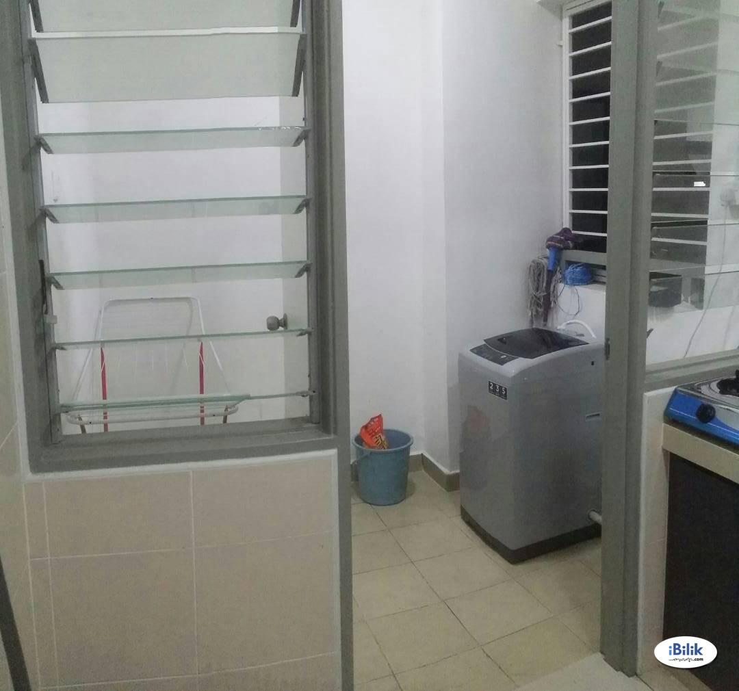 [MUSLIMAH] wifi  provide Middle Room at Rafflesia Sentul Condominium, Sentul