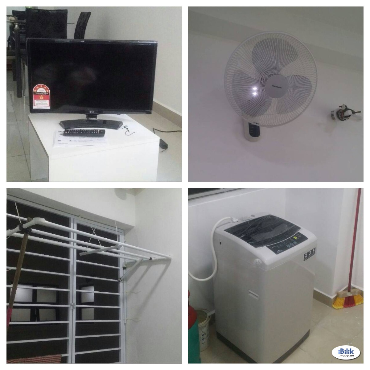 [WIFI PROVIDED]  Middle Room at Rafflesia Sentul Condominium, Sentul