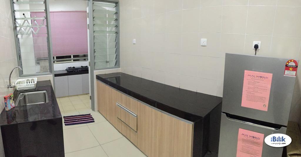[MOVE IN NOW] FULLY FURNISHED IN Middle Room at Rafflesia Sentul Condominium, Sentul