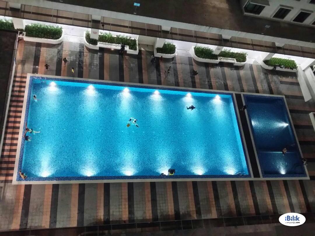 [MUSLIMAH] Master Room at Rafflesia Sentul Condominium, Sentul