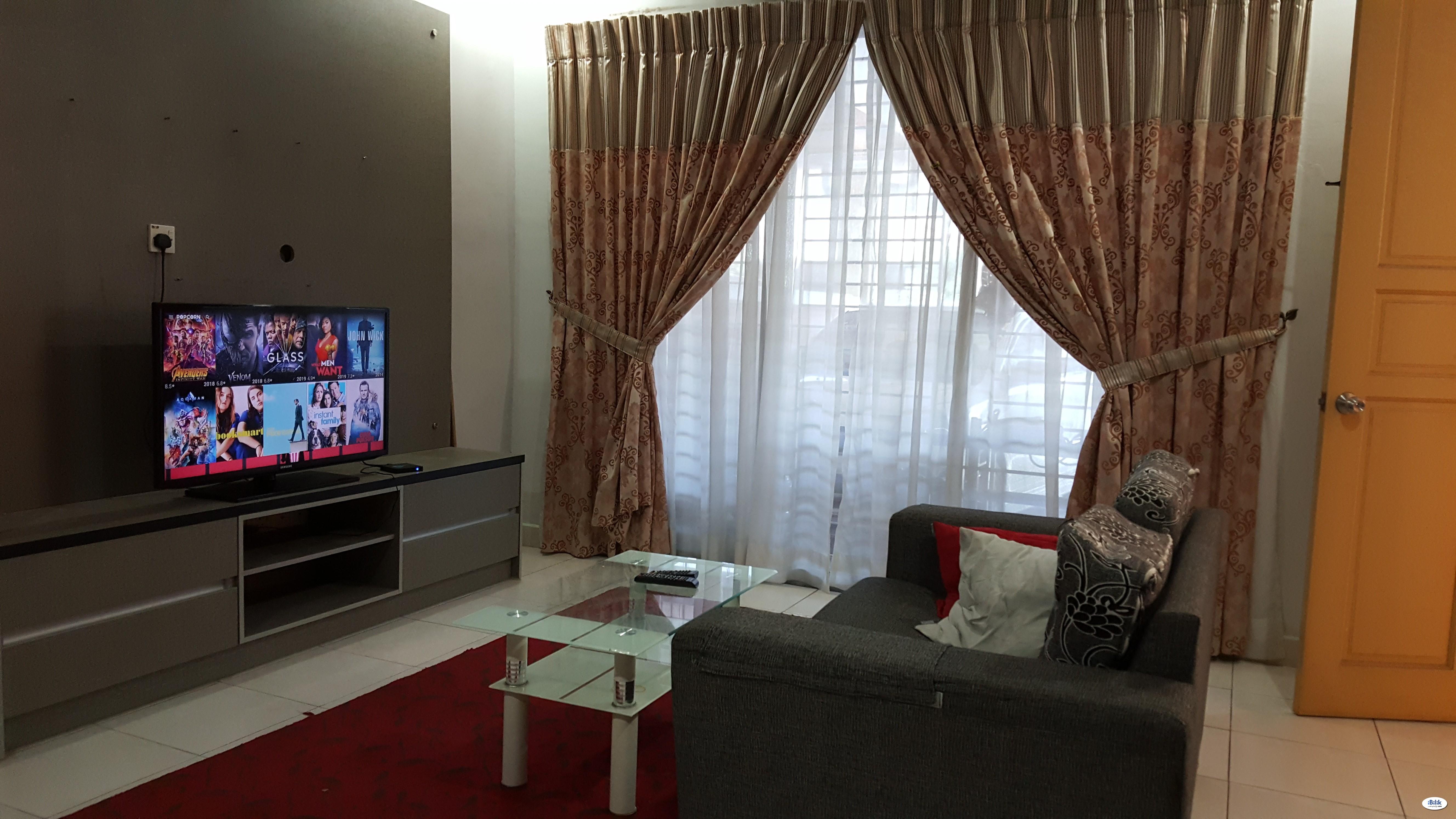 Cozy Middle Room near Putrajaya and cyberjaya kemasukan segera
